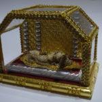Glasschrein für Klosterarbeiten - eigene Herstellung