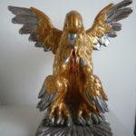 Restaurierte Skulptur