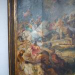Rubens - Ölbild - Reinigung von altem Firnis