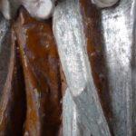 Freilegung einer übermalten Silberfassung